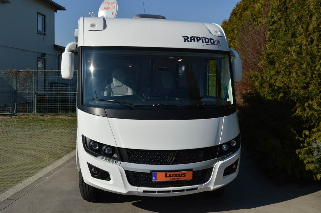 Rapido 856F 2020 – lakóautó bérlés